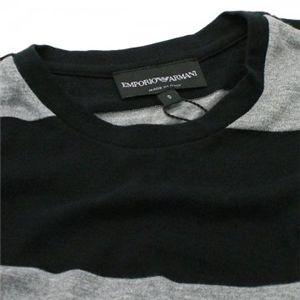 EMPORIO ARMANI(エンポリオアルマーニ) メンズTシャツ  E1M45J E16SJ 999 ブラック L66 S62 W46 SH40の写真3