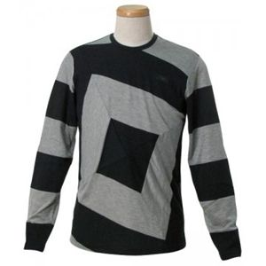 EMPORIO ARMANI(エンポリオアルマーニ) メンズTシャツ  E1M45J E16SJ 999 ブラック L68 S66.5 W50 SH42の写真1