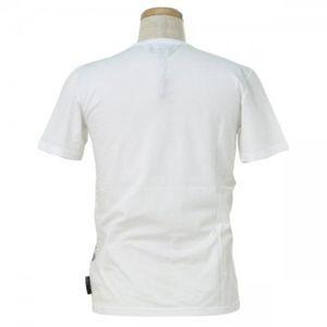 EMPORIO ARMANI(エンポリオアルマーニ) メンズTシャツ  E1T74J E1CJS  ホワイト L63 S20 W46 SH42の写真2