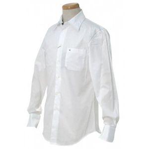 EMPORIO ARMANI(エンポリオアルマーニ) メンズシャツ  E1C09T E1E2C 100 ホワイト L76 S66 W53 SH46の写真1