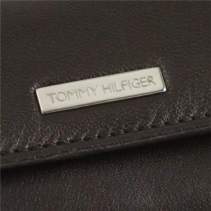 TOMMY HILFIGER(トミーヒルフィガー) キーケース 6   ブラウン H6×W9×D1.5の写真3