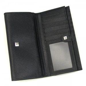 Ferragamo(フェラガモ) 長財布 GANCINI ICONA VITELL 228219 360005 ブラック H10×W18×D3の写真3