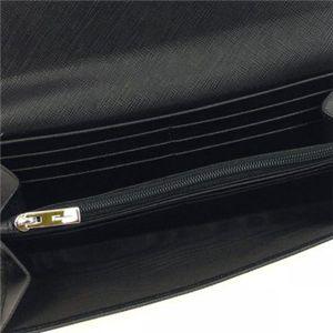 Ferragamo(フェラガモ) 長財布 GANCINI ICONA VITELL 22B002 433587 ブラック H9.5×W19×D3の写真3