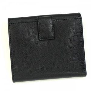 Ferragamo(フェラガモ) Wホック財布 GANCINI ICONA VITELL 22A960 433597 ブラック H10.5×W12×D2.5の写真3