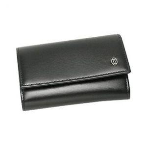 Cartier(カルティエ) キーケース PASHA DE CATIER L3000127  ブラック H7×W10.5×D2の写真1