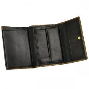 Vivienne Westwood(ヴィヴィアンウエストウッド) 二つ折り財布(小銭入れ付) NEW SLOANE 738V  シルバー H10×W13.5×D2.5の写真2