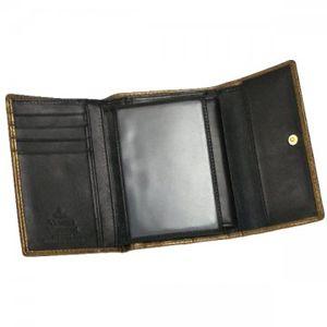 Vivienne Westwood(ヴィヴィアンウエストウッド) 二つ折り財布(小銭入れ付) NEW SLOANE 738V  シルバー H10×W13.5×D2.5の写真3