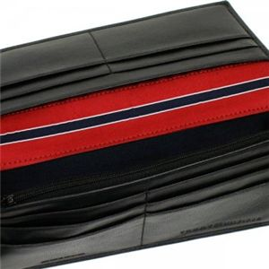 TOMMY HILFIGER(トミーヒルフィガー) 長財布 6   ブラック H19×W9.5×D2画像3