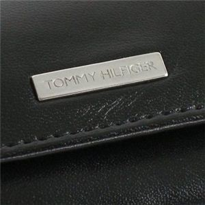 TOMMY HILFIGER(トミーヒルフィガー) キーケース 6   ブラック H6×W9×D1.5の写真3