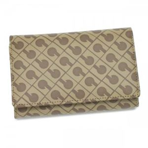 Gherardini(ゲラルディーニ) 二つ折り財布(小銭入れ付) SOFTY BASIC BS12 1508 ベージュ H9×W14.5×D3