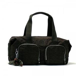 Kipling(キプリング) ショルダーバッグ BASIC K13356 740 ダークブラウン/ブラック H20×W40×D14【送料無料】