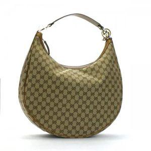 Gucci(グッチ) ショルダーバッグ GG TWINS 232945 8708 ベージュ/キャメルM H31×QW39×D14.5