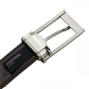 renoma(レノマ) ベルト ベルト30mm 36 ブラック B4×7