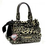 JUICY COUTURE(ジューシークチュール) ショルダーバッグ VELOUR LEOPARD Y