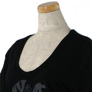 SEE BY CHLOE(シーバイクロエ) レディースTシャツ 4A1105 C74 ブラック L66 S15.5 W45 SH42