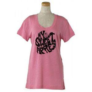 SEE BY CHLOE(シーバイクロエ) レディースTシャツ 4A1105 N40 ピンク L68 S16 W47 SH43