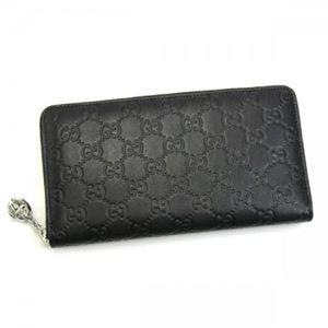 Gucci(グッチ) 長財布 GG TWINS 233026 1000 ブラック (H11.5×W21×D2.5)