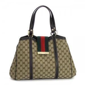 Gucci(グッチ) トートバッグ NEW LADIES WEB 233609 9793 ブラウン/ダークブラウン (H25(C)×W32/41×D12)