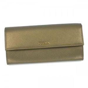 Furla(フルラ) 長財布 PJ78 MSA ゴールド (H9.5×W19.5×D3)
