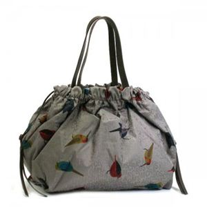 MARC BY MARC JACOBS(マークバイマークジェイコブス) トートバッグ JUMBLED BIRDS M303028 479 ライトブラウン (H35×W37×D18)