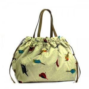 MARC BY MARC JACOBS(マークバイマークジェイコブス) トートバッグ JUMBLED BIRDS M303028 480 ライトグリーン