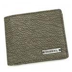 DIESEL(ディーゼル) 二つ折り財布(小銭入れ付) CORE CONCEPT XS21 T7167 グレー (H9.5×W11×D1.5)