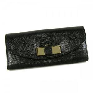 Chloe(クロエ) 長財布 LILY 3P0502 1 ブラック (H10.5×W19×D2)