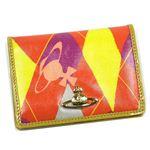 Vivienne Westwood(ヴィヴィアンウエストウッド) パスケース NEW HARLEQUIN 724V オレンジ (H7.5×W10.5×D1.5)