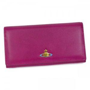 Vivienne Westwood(ヴィヴィアンウエストウッド) 長財布 NAPPA CALF 1032V ピンク (H9.5×W19×D2.5)