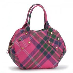 Vivienne Westwood(ヴィヴィアンウエストウッド) ハンドバッグ DERBY 4810 ピンク (H22×W30×D10)