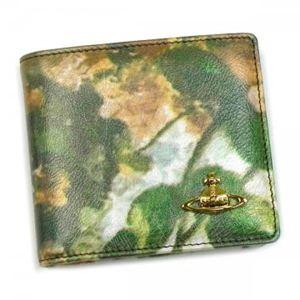 Vivienne Westwood(ヴィヴィアンウエストウッド) 二つ折り財布(小銭入れ付) EBURY 730V レッド/ブラウン (H10.5×W11×D2.5)