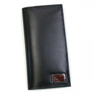 Ferragamo(フェラガモ) 長財布 MENS SLG FELIX 668837 443483 ブラック (H19xW9.5xD2)
