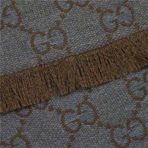 Gucci(グッチ) マフラー類セット 246857 1265 ブラウン (L174×W36.5)