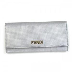 Fendi(フェンディ) 長財布 8M0251 F0WN4 シルバー
