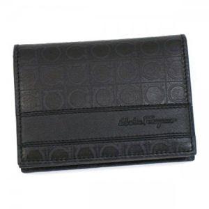 Ferragamo(フェラガモ) カードケース MENS SLG GAMMA 668741 433475 ブラック
