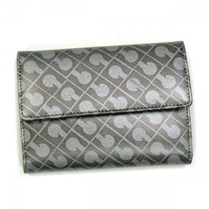 Gherardini(ゲラルディーニ) 三つ折り財布(小銭入れ付) SOFTY BASICO BS09 4002 グレー/シルバー