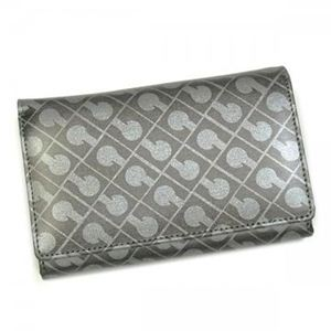 Gherardini(ゲラルディーニ) 二つ折り財布(小銭入れ付) SOFTY BASICO BS12 4002 グレー/シルバー
