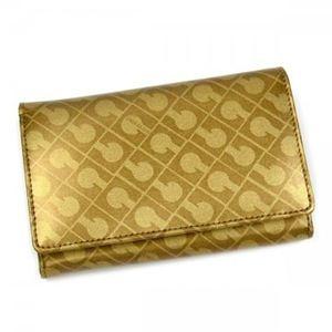 Gherardini(ゲラルディーニ) 二つ折り財布(小銭入れ付) SOFTY BASICO BS12 2555 ゴールド