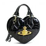 Vivienne Westwood(ヴィヴィアンウエストウッド) ハンドバッグ CHANCERY 5009 ブラック/ゴールド