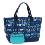 TOMMY HILFIGER(トミーヒルフィガー) トートバッグ STENCIL GROUP 6912276 482 SEA BLUE
