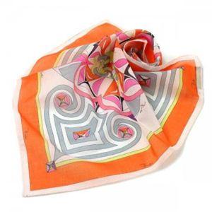 Emilio Pucci(エミリオプッチ) スカーフ 66 1 オレンジ