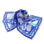 Emilio Pucci(エミリオプッチ) スカーフ 89 2 ブルー