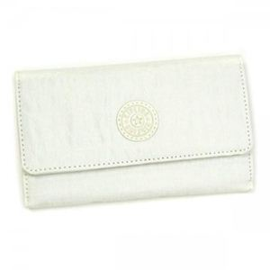 Kipling(キプリング) 二つ折り財布(小銭入れ付) BASIC K13107 0 ホワイト