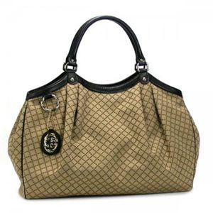 Gucci(グッチ) ショルダーバッグ SUKEY 211943 9769 ブラック/ベージュ