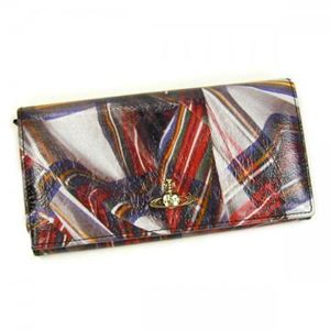 Vivienne Westwood(ヴィヴィアンウエストウッド) 長財布 TARTAN 32.089 レッド