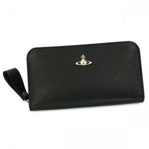 Vivienne Westwood(ヴィヴィアンウエストウッド) 長財布 TWISTED 32.099 ブラック
