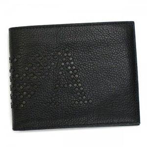 EMPORIO ARMANI(エンポリオアルマーニ) 二つ折り財布(小銭入れ付) LINEA MILANO YEM122 80001 ブラック