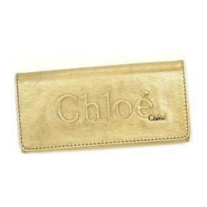 Chloe(クロエ) 長財布 SHADOW 3P0321 91 ゴールド - 拡大画像