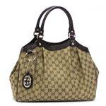 Gucci(グッチ) ショルダーバッグ SUKEY 211944 9643 ベージュ/ダークブラウン