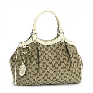 Gucci(グッチ) ショルダーバッグ SUKEY 211944 9761 ベージュ/ホワイト
